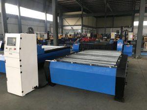 چین 1325 1530 ارزانه مشعل لوړوالی کنټرولر پلازما هوایان فلزي اوسپنې د CNC پلازما پرې کولو ماشین