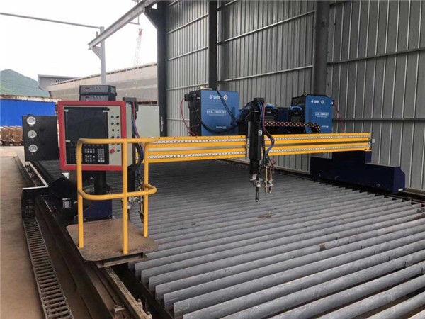 China Big Size CNC Gantry Flame Plasma Cutting Machine