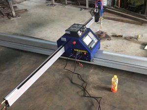 چین د CE سره ارزانه 15002500mm فلزي پورټ ایبل CNC پلازما د ریبلو ماشین