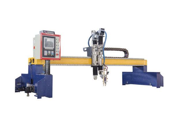 Gantry Type CNC Plasma and Flame cutting machine for ship yard building from Shanghai Laike - Tayor Cutting Machinery