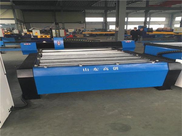 د فلزي شیټ CNC پلازما پرې کولو ماشین لپاره نوي ډیزاین شوي CNC کاٹنے ماشین