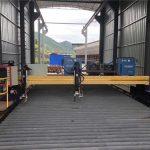 دقیقه CNC پلازما د ریبلو ماشین دقیق 13000mm servo موټور