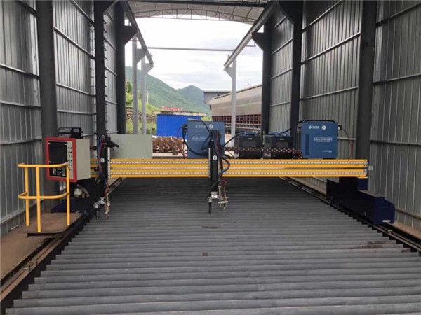 د فولادو شیټ 1500x3000mm اندازه CNC پلازما شیټ فلزي قطع کولو ماشین