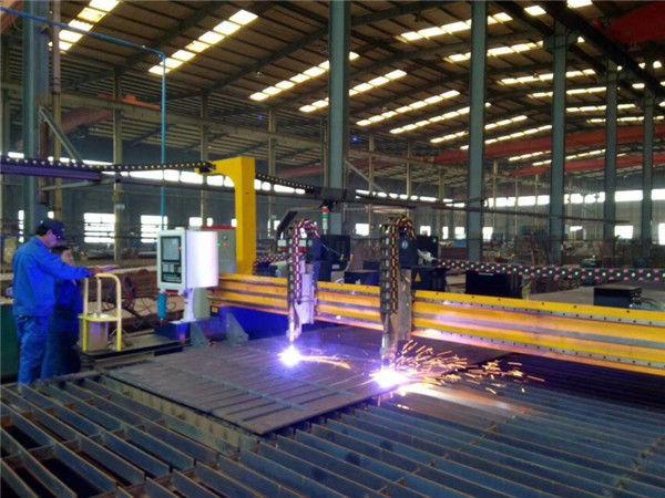 طوفان 2013 CNC پلازما او فلش 5 'x 10' ټولې فلزي قطع کول
